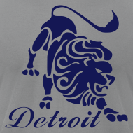 Design ~ Lions Vintage Men's American Apparel Tee