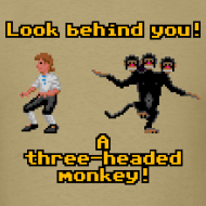 Design ~ Monkey Island: Three-headed Monkey