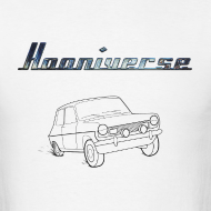 Design ~ Hooniverse T-Shirt with Emblem and Car
