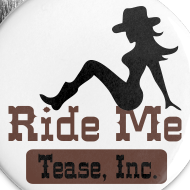 Design ~ Ride Me - Cowgirl: Buttons (5 Pack)