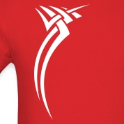 Red Tribal design 01 T-Shirts