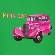 Design ~ Pink car t-shirt