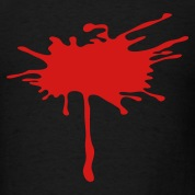 Blood Paint Splatter 1c