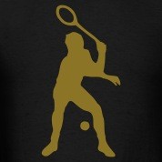 Black tennis T-Shirts