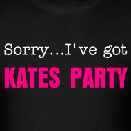Design ~ Sorry...I've got Kates Party