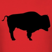 Red bison T-Shirts
