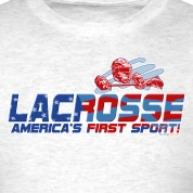 Light oxford Lacrosse America T-Shirts