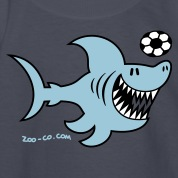 Navy Shark Attacks Kids' Shirts