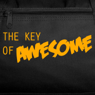 Design ~ Key of Awesome Duffle Bag-you know you want it.