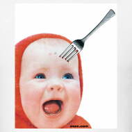 Design ~ Baby with Fork in Head