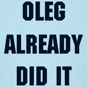 Design ~ Oleg Already Di