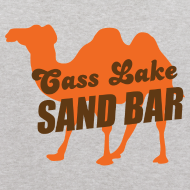 Design ~ Cass Lake Sand Bar Kid's Hooded Sweatshirt