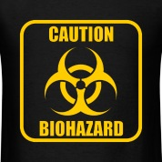 Caution Biohazard T-Shirt