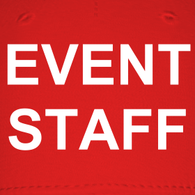 Event staff baseball cap event staff t shirts and clothing for Event staff shirt ideas