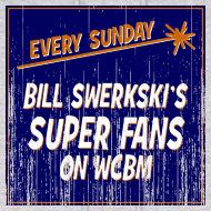 Design ~ Bill Swerkski's Superfans on WCBM Men's Hooded Sweatshirt