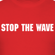 Design ~ Stop The Wave Mens Standard Shirt