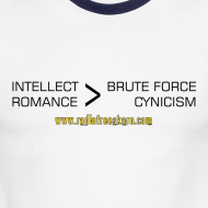 Design ~ Intellect & Romance (Ringer Tee)
