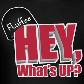 Design ~ Mens T-shirt, Hey, What's up?