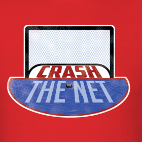 Design ~ Crash The Net Red T-Shirt