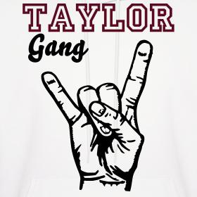 TaylorGang White Hoodie | ViciousSwagg