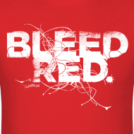 Design ~ Bleed Red - White Std.