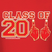 Class of 2011 FU Graduation Red and Yelllow T-Shirts