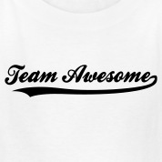 Team Awesome (1c) Kids' Shirts