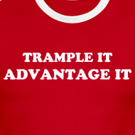 Design ~ TRAMPLE IT, ADVANTAGE IT WOMEN'S