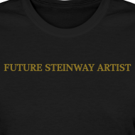 Design ~ Future Steinway Artist - Metallic Gold