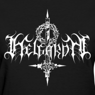 Design ~ Helgardh Crucifix Logo Women's T 666