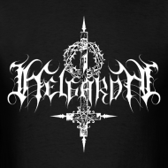 Design ~ Helgardh Crucifix Logo Men's T 666