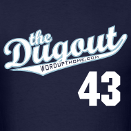 Design ~ F4rnsw0rth #43 (Kyle Farnsworth) Rays Dugout T