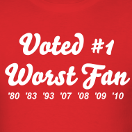 Design ~ Worst Fan Ever - Men's