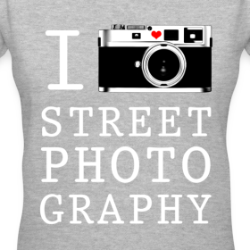 Design ~ I Shoot Street Photography [Women's V-Neck]