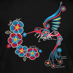 Ojibwa Art Design http://welivenative.spreadshirt.com/honoring-generations-of-mothers-my-heart-ninde-ojibwe-A7378019