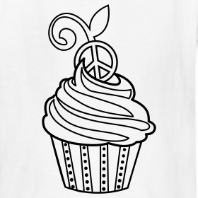 fairy coloring pages cupcake coloringshirtcoloringshirts
