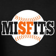 Design ~ MiSFits - SF GIANTS - Black