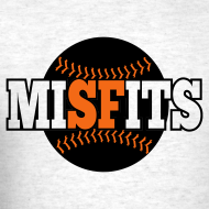 Design ~ MiSFits - SF GIANTS - Ash Grey