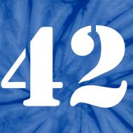 Design ~ HITCHHIKER'S GUIDE 42 T-Shirt - Ringer T-Shirt