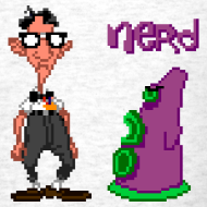 Design ~ Day of the Tentacle: Nerd