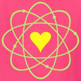 YellowIbis.com 'Physics Symbols' Kids T: Atomic Love (Hot ...