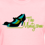 Design ~ The Minty  women's light blue tee