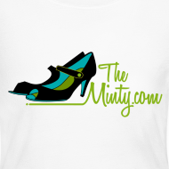 Design ~ The Minty women's long sleeved white