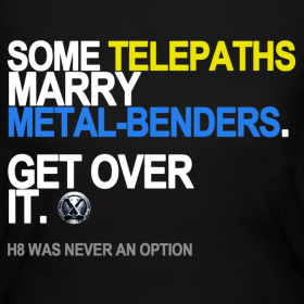 Design ~ Some Telepaths Marry Metal-Benders Long Sleeve