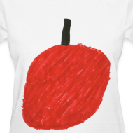 Design ~ A Cherry Tee for Charity (Big Red Cherry)