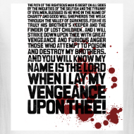 Design ~ Pulp Fiction: Bloody Ezekiel 25:17