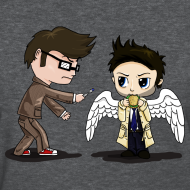 Design ~ Superwho: The Doctor & Castiel