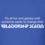 Design ~ Relationship Status Men's Tee