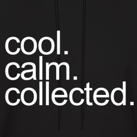 general cool calm collected dapple apparel