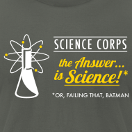 Design ~ Science Corps - The Answer (Asphalt Men's AA)